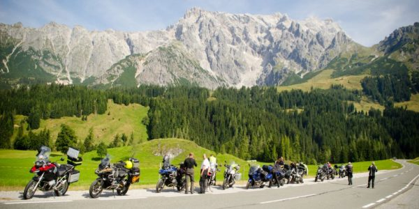 Alps Relax motorcycle tour August of 2015