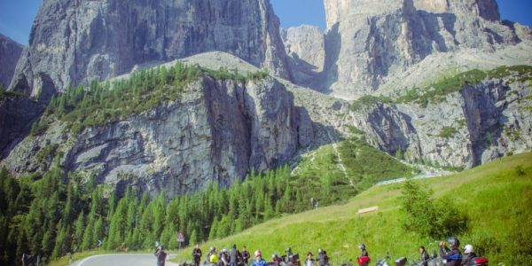 Dolomites Rock 'N' Roll motorcycle tour July 2015